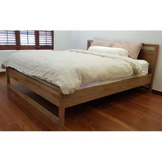 Solid Teak Wood Bed Frame - Originals