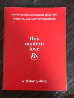 🚚 This Modern Love by Will Darbyshire