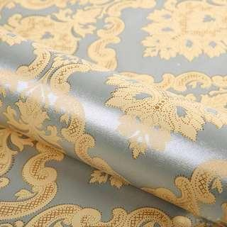 WALLPAPER GOLD AND SILVER ISLAMIC DAMASK