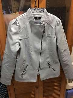 Ladies leather jacket(PU)