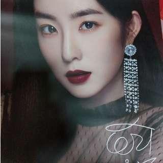 Red Velvet Etude House Poster + Poster Box - Irene