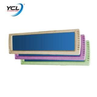 ycl -870B curve type (BLUE) 300mm car room mirror with led lights