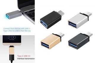 USB 3.1 Type C to USB 3.0 Adapter 4 Laptop Smart Phone Tablet Macbook