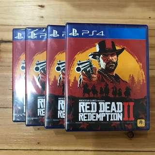 PS4 Red Dead Redemption 2 (R3)
