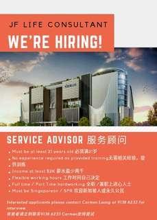 🚚 Full time/Part time Service Advisor