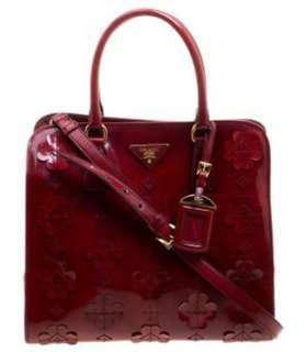Authentic Prada Large Patent Bag