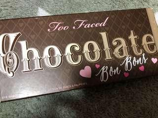 Too Faced Chocolate BonBons eyeshadow collection Sephora