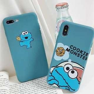 (Soft) Cute Cookie Monster Cookie iPhone Case
