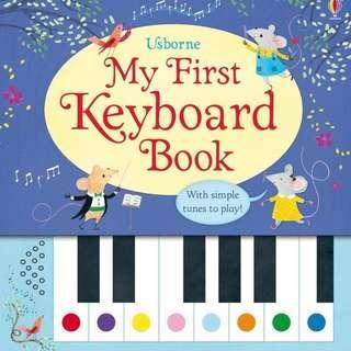 My First Keyboard Book / My first Christmas keyboard book