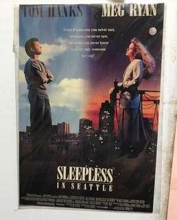 經典電影「緣份的天空」電影(sleepless in Seattle) postcard