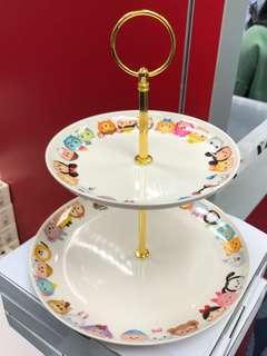 迪士尼 Disney Dim Sum Tsum Tsum 専用High Tea 展示架