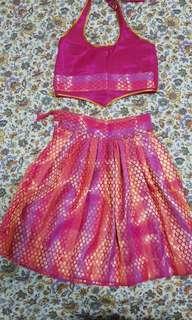 Diwali Indian Costume ethinic for girls