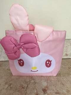 My melody sanrio pink bag