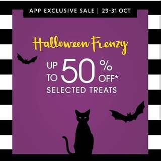 Sephora Halloween Frenzy