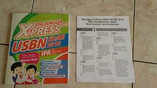 ERLANGGA X-PRESS USBN SD/MI 2019 IPA