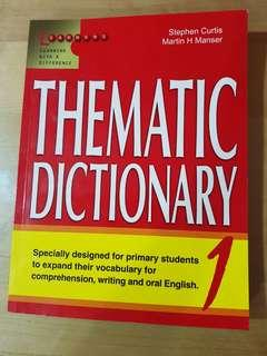 Thematic Dictionary