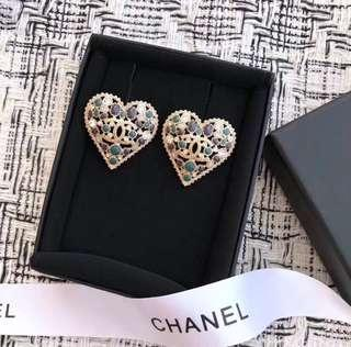 Chanel BNIB 2018 Metiers d'Art ear studs