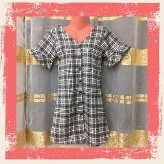 Vintage Style Plaid Dress