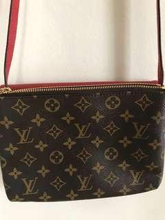 Louis Vuitton red sling bag