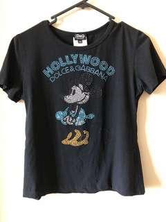 Dolce Gabbana t-shirt in size Aus 10