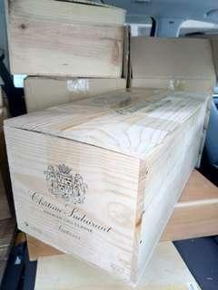 特色紅酒箱 (550x265x235mm高)