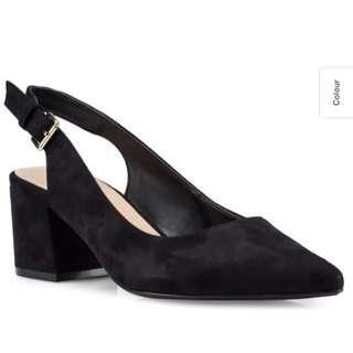 Aldo Glaucya Slingback Black Pump / Heels