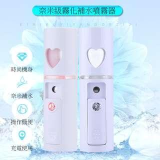 🚚 【天馬行銷】USB充電奈米噴霧保濕補水霧化器