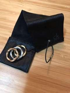 Calvin Klein ring set