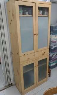 勁新木儲物櫃