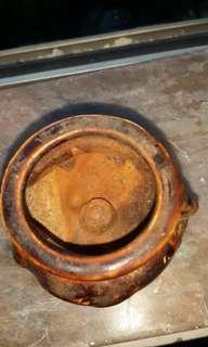 古旧小香爐1寸半乂1寸半-
