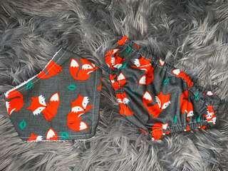 Handmade bib and nappy cover