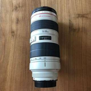 Preloved Canon T2.8 70-200mm Lens