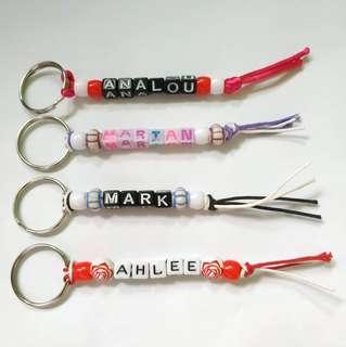 Customized Keyrings