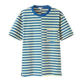 Promo A : Uniqlo x jw anderson striped tshirt