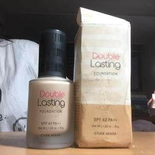 🚚 Etude house Double Lasting 粉底液