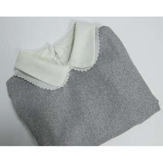 白灰色襯衫