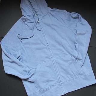 Uniqlo Blue hoodie jacket