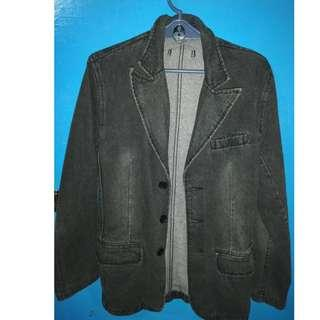 (RUSH SALE) Black Denim Jacket