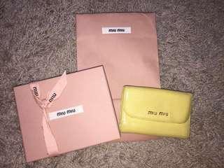 Miu miu wallet#OCT10