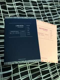 韓國輕便手帳簿