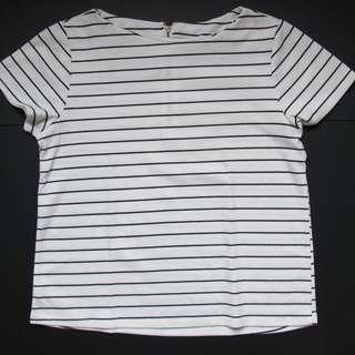 Striped top unbranded