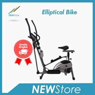 Sepeda Statis Total Fitness Elliptical Crosstrainer Bike TL-8502