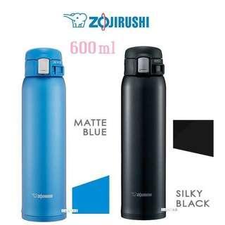 ZOJIRUSHI 象印 600ml One Touch 不銹鋼冷熱兩用保溫瓶 SM-SD60
