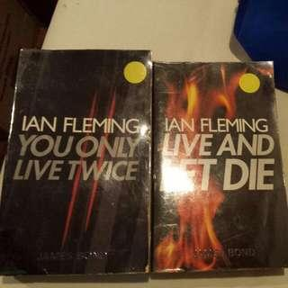 Ian Fleming / James Bond You Only Live Twice Live And Let Die