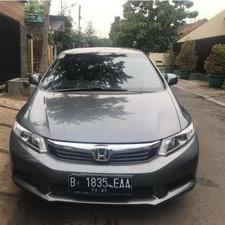 Honda Civic 2013 Istimewa not 2014/2012