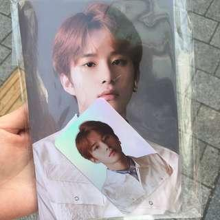 NCT127 Jungwoo mini note hologram photocard
