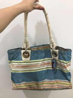 Coach casual beach bag