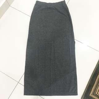 Zalora Slit Pencil Skirt