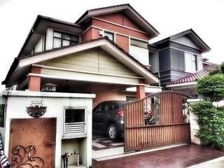 FOR SALE/RENT 2 Semi-D house 🏡 Taman Villa Putra, Sg. Buloh