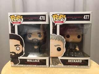 Blade Runner Funko pop set Deckard and Wallace